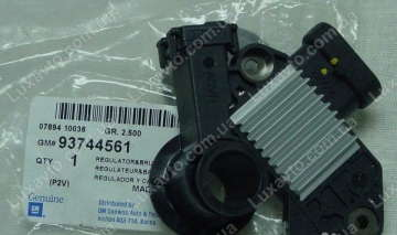 Регулятор напряжения генератора Шевроле Лачетти 1.6-1.8 (Chevrolet Lacetti), Нексия DOHS (Nexia) 85A с щётками GM