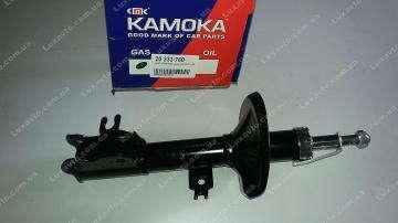 Амортизатор Шевроле Авео (Chevrolet Aveo) передний левый газ (c АБС) Kamoka