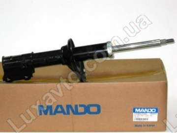 Амортизатор Шевроле Лачетти (Chevrolet Lacetti) передний левый газ Mando