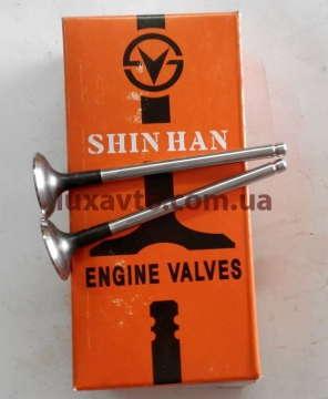 Клапана Шевроле Лачетти (Chevrolet Lacetti) 1,8 выпуск LDA Shinhan 8 шт