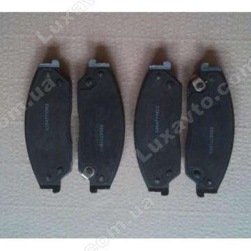 Колодки тормозные передние Emgrand EC8[2.0,GP], Emgrand EC8[2.4,GP,AT]