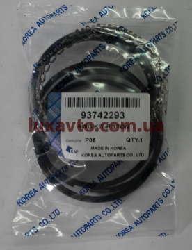 Кольца поршневые Дэу Ланос 1.5 (Daewoo Lanos), Дэу Нексия 1.5 (Daewoo Nexia) (1-ый ремонт +0.25 мм) KAP Корея
