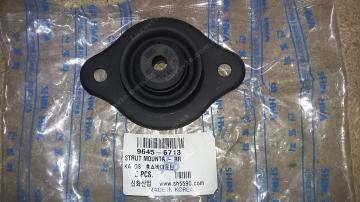 Опора амортизатора переднего верхняя Шевроле Авео (Chevrolet Aveo) задняя (с подшипник) SHINHWA Корея