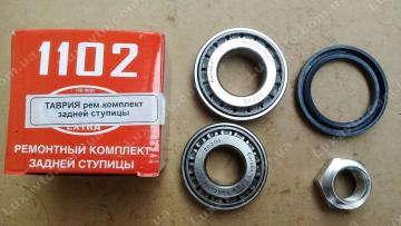 Подшипники задней ступицы ЗАЗ Таврия 1102, Славута 1103 Extra набор (гайка, сальник, 2 подшипника)