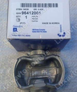 Поршни Шевроле Авео 1.5 (Chevrolet Aveo) (1-ый ремонт +0.25 мм) 76.75 мм GM