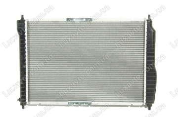 Радиатор охлаждения Шевроле Авео 1.5-1.6 (Chevrolet Aveo) с кондиционером МКПП HCC (HALLA) 600 мм