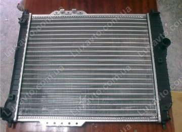 Радиатор охлаждения Шевроле Авео 1.2-1.4 8V (Chevrolet Aveo) T200, 250 с/к. б/к  HCC (HALLA) 480 мм