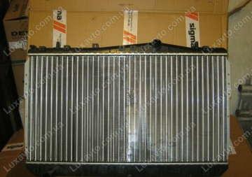 Радиатор охлаждения Шевроле Лачетти 1.6-1.8, 1.8 LDA (Chevrolet Lacetti) МКПП с кондиционером Anam