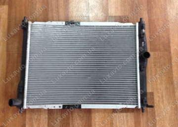 Радиатор охлаждения Дэу Ланос (Daewoo Lanos) без кондиционера Delphi