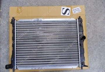 Радиатор охлаждения Дэу Ланос (Daewoo Lanos) без кондиционера EuroEx