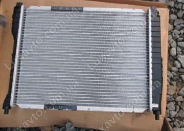 Радиатор охлаждения Дэу Нубира (Daewoo Nubira) без кондиционера MКПП Thermotec