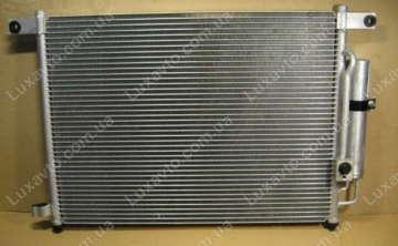 Радиатор кондиционера Шевроле Авео 1.5-1.6 (Chevrolet Aveo) (T200,250) Profit