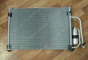 Радиатор кондиционера Дэу Ланос (Daewoo Lanos) BINGO без бачка