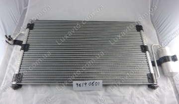 Радиатор кондиционера Дэу Нубира (Daewoo Nubira)1 Bingo без ресивера (бачка)