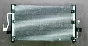 Радиатор кондиционера Дэу Нубира (Daewoo Nubira)1 SPK без ресивера (бачка)