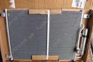 Радиатор кондиционера Шевроле Авео 1.5-1.6 (Chevrolet Aveo) (T200,250) (КМС)
