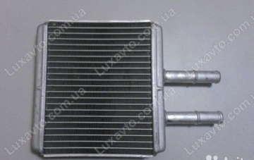 Радиатор печки (отопителя) Шевроле Авео (Chevrolet Aveo) Luzar (b=198) LRh CHAv0504