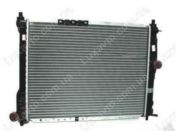 Радиатор охлаждения Дэу Ланос (Daewoo Lanos) без кондиционера LUZAR Луганск