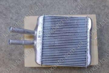 Радиатор печки (отопителя) Дэу Ланос (Daewoo Lanos) Genuine алюминиевый