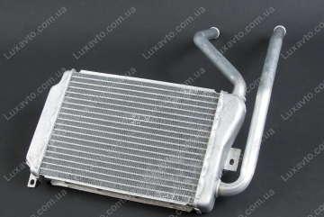 Радиатор печки (отопителя) Дэу Нексия (Daewoo Nexia) DM узкий (алюминиевый)