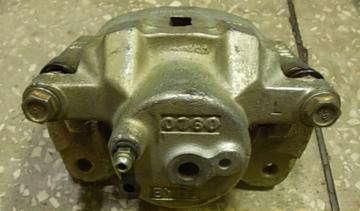 Суппорт тормозной передний левый BYD F3[1.6, -2010г.]