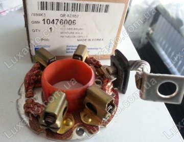 Щетки стартера (щеточный узел) Дэу Ланос 1.6 (Daewoo Lanos) (1,2-1,4 КВ) метал. GM