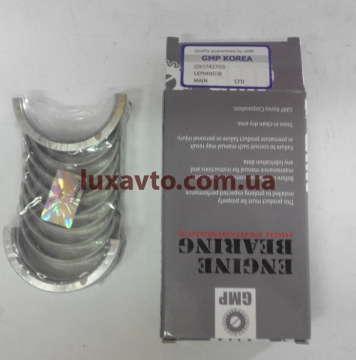 Вкладыши Дэу Ланос (Daewoo Lanos), Шевроле Авео (Chevrolet Aveo), Дэу Нексия (Daewoo Nexia) 1.5-1.6, Лачетти 1.6-1.8 LDA (Lacetti), Нубира 1.6 (Nubira) шатунные GMP Корея стандарт