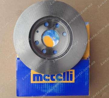 Диск тормозной Шевроле Ланос 1.5 (Chevrolet Lanos), Дэу Нексия 1.5 (Daewoo Nexia), ЗАЗ Сенс (Sens) Metelli