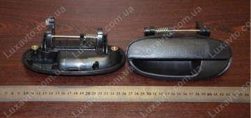 Ручка двери Дэу Ланос (Daewoo Lanos) наружная задняя левая CRB