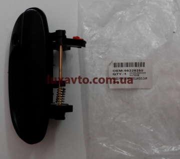Ручка наружная дверная Дэу Ланос (Daewoo Lanos) передняя правая OEM
