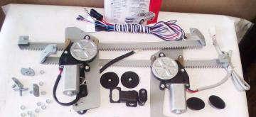 Стеклоподъёмники (электро) Славута 1103 Гранат передние (левый   правый) в сборе с кнопками