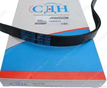 Ремень кондиционера 5PK1330 (CDN) Chery Eastar 2.4L Mits. MD317245