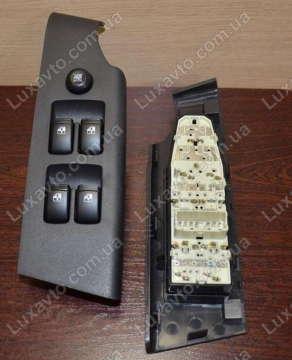 Кнопки стеклоподьемников Шевроле Авео (Chevrolet Aveo) T-250 на 4 кнопки GM