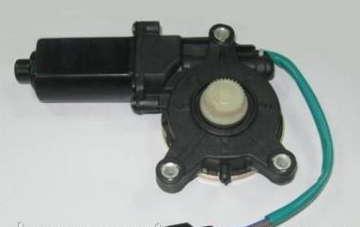 Мотор стеклоподъемника Дэу Ланос (Daewoo Lanos) Grog шестерня левый
