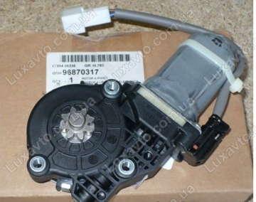 Мотор стеклоподьемника Шевроле Авео (Chevrolet Aveo) (T250 / T255) передний правый Dongyang