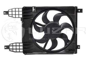 Мотор радиатора с диффузором Шевроле Авео (Chevrolet Aveo)-4 T-255/Шевроле Авео-3 (2010-) (Chevrolet Aveo)/Vida Luzar