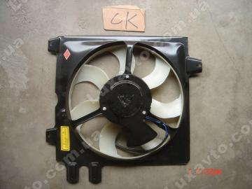 Вентилятор охлаждения левый (5 ножек) Geely CK MK