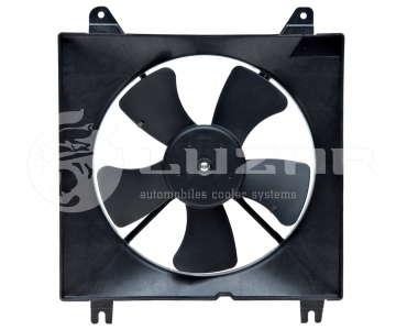 Мотор радиатора с диффузором Дэу Ланос (Daewoo Lanos) Luzar