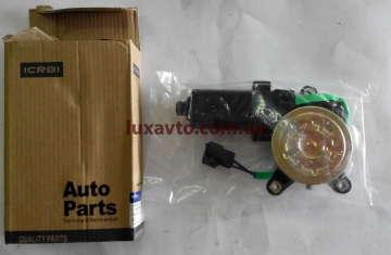 Мотор стеклоподъемника (двигатель) Дэу Ланос (Daewoo Lanos) CRB треугольник правый