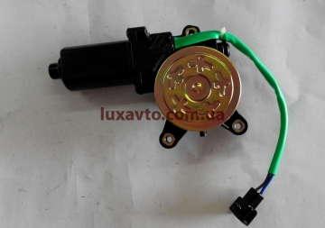 Мотор стеклоподъемника (двигатель) Дэу Ланос (Daewoo Lanos) DM шестерня правый