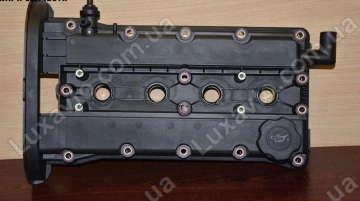 Крышка клапанная Шевроле Авео 1.6 (Chevrolet Aveo), Шевроле Лачетти 1.6 (Chevrolet Lacetti) DM (03-05)