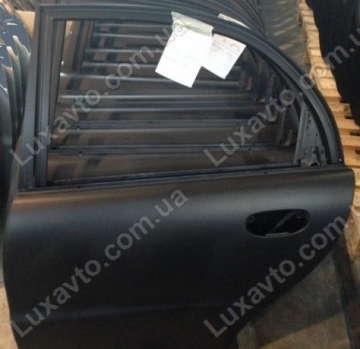 Дверь задняя левая Дэу Ланос (Daewoo Lanos) (грунт чёрная) АвтоЗАЗ