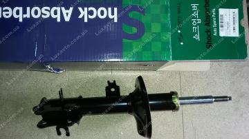 амортизатор шевроле авео (chevrolet aveo) передний правый масло (с абс) pm