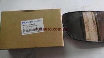 Зеркало (элемент) наружное Chevrolet Aveo-3 правое Корея (оригинал) под электрокорректор