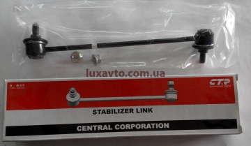 Стойка стабилизатора передняя Шевроле Лачетти (Chevrolet Lacetti) CTR левая
