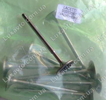 Клапан выпускной Шевроле Лачетти 1.8 LDA (Chevrolet Lacetti) OE