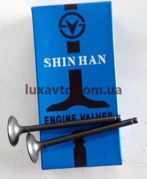 Клапана Шевроле Лачетти 1.6 (Chevrolet Lacetti), Шевроле Авео 1.6 (Chevrolet Aveo) впускные SHINHAN (8 штук)