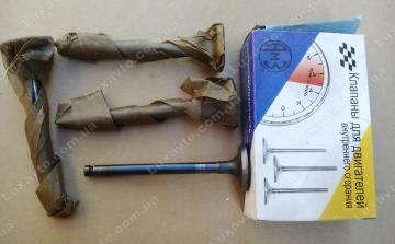 Клапана  ЗАЗ Таврия 1102, ЗАЗ Сенс (Sens), Славута Луганск впускные (комплект 4 штуки)