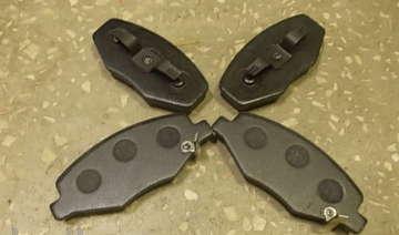 Тормозные колодки передние Чери Бит S18 (Chery Beat)