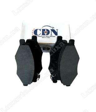 Тормозные колодки передние Чери Амулет A15 (Chery Amulet) (CDN)